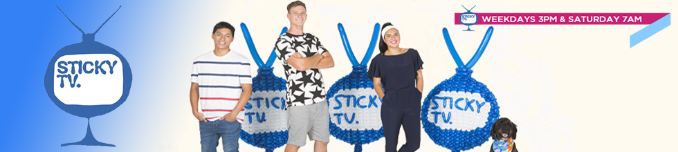 Sticky TV is a Kids TV show on FOUR! Get recipes, activities and chat to our awesome presenters